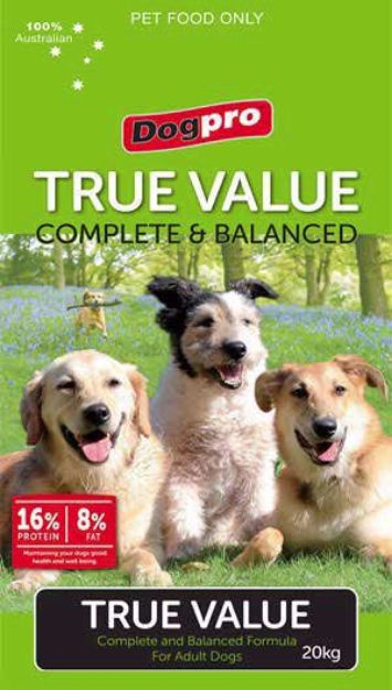 Picture of Dog Pro - True Value - Dog Food