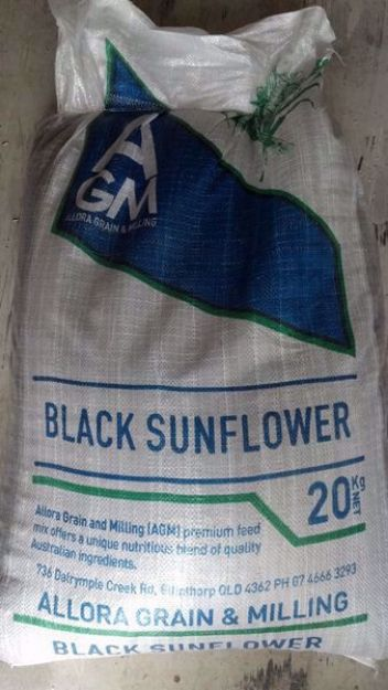 Picture of Black Sunflower Seeds - 20KG