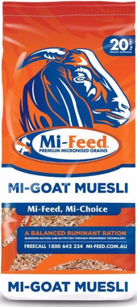 Picture of Mi-Feed Goat Muesli 20KG