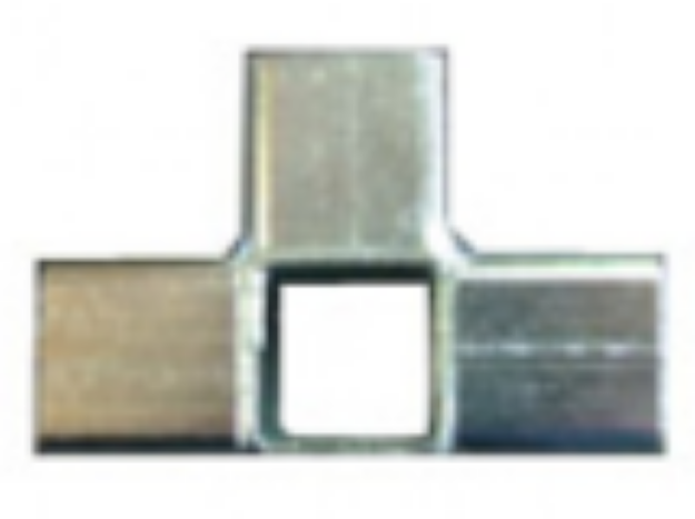 Picture of 4 Way Steel Connector Joiner for 25 x 25mm Square Aviary Frame